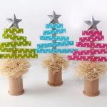 Christmas crafts to make with WOODEN STICKS 