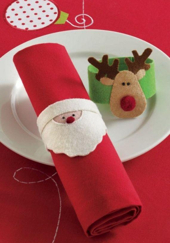 Homemade Christmas Napkin Ring Ideas Family Holiday Net Guide To