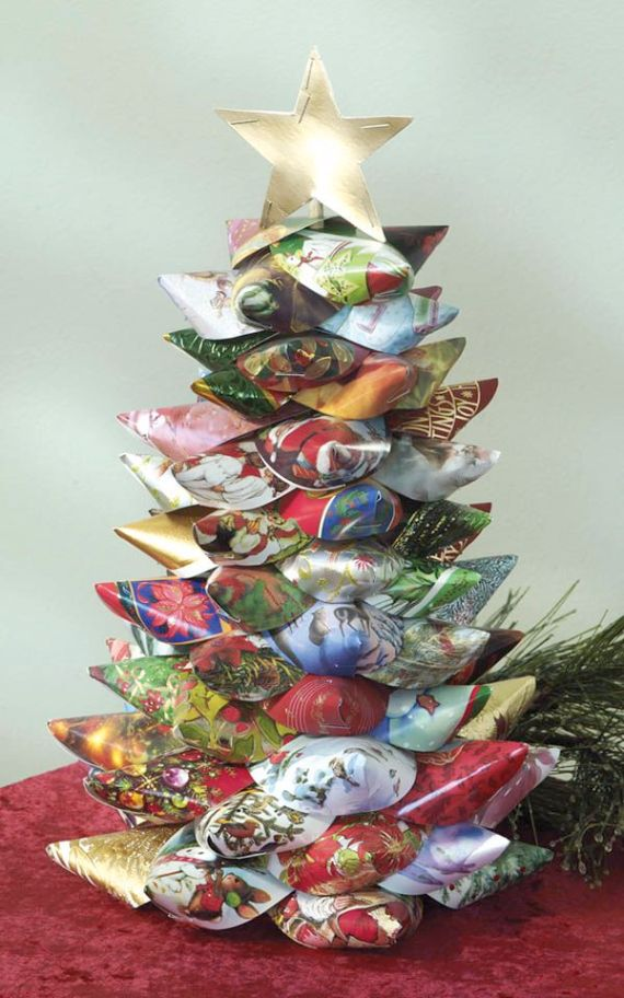 Christmas Card Projects: Decorative Ways to Recycle Old Christmas ...