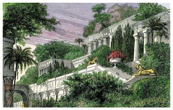 Traveling to Iraq Hanging Gardens of Babylon Ancient Wonder - family ...