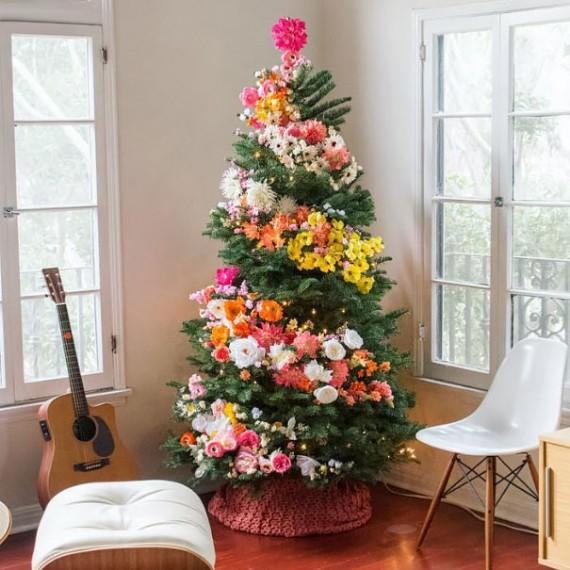 Flower Christmas Tree Decoration 2