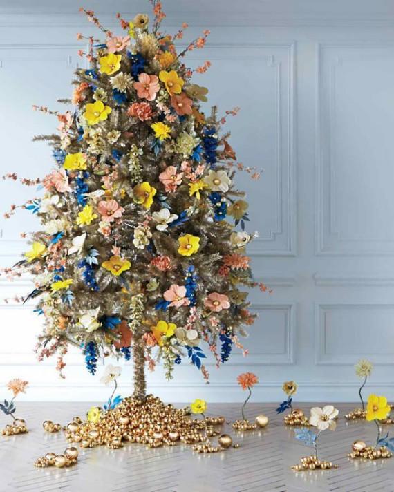 Flower Christmas Tree Decoration