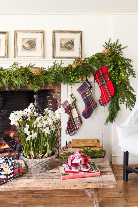 Tartan Christmas Stockings