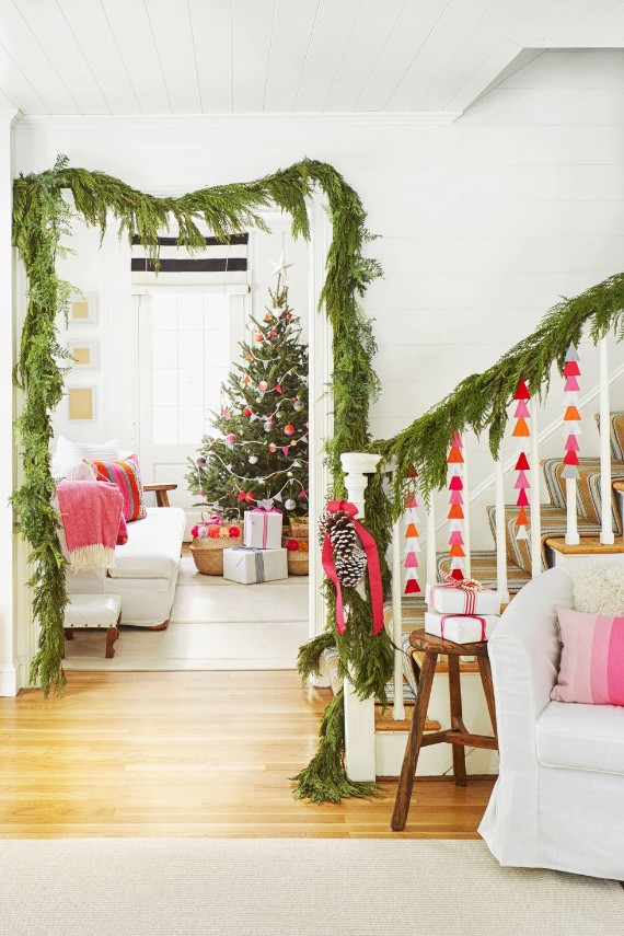 Fancy Christmas Garland