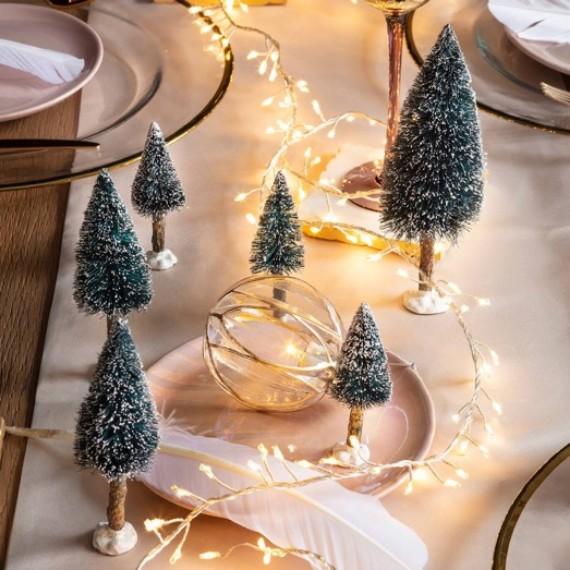 Mini bottle brush Christmas trees