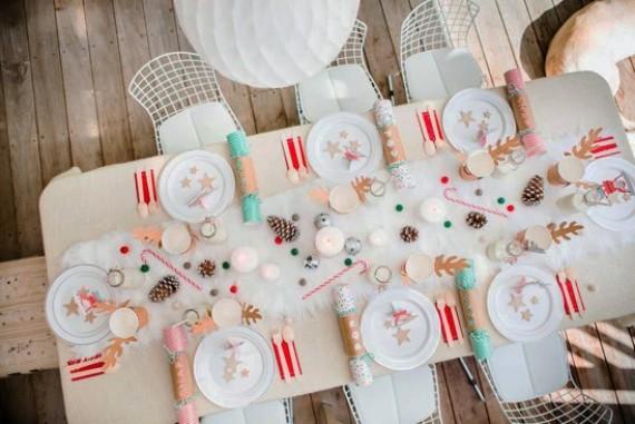 children's Christmas table ideas