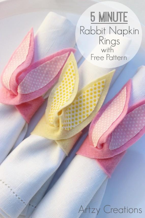 Bunny-Napkin-Rings