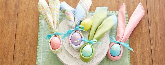easter-bunny ear-napkins