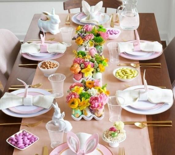Exuberant floral decoration in egg shells .