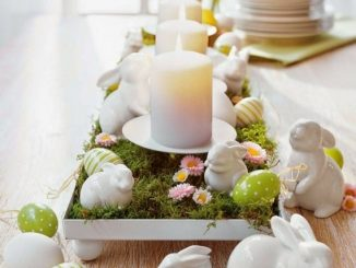 TIPS AND IDEAS FOR A BEAUTIFUL EASTER TABLE
