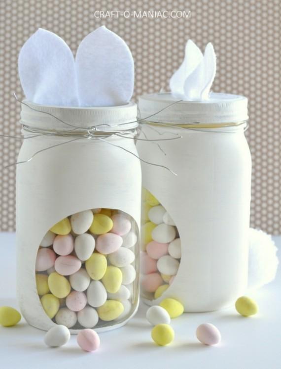 DIYEaster BunnyCandy Jar
