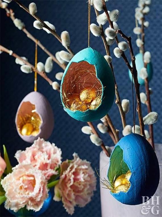 easter egg shell tree