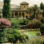 Traveling to Alhambra  Granada Spain