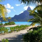Traveling  to Bora Bora  Islands Pacific Ocean