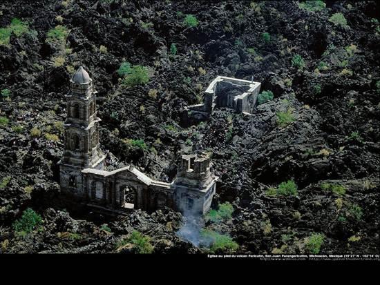 church-at-the-foot-of-the-paricutin-volcano-san-juan-parangaricutiro-michoacan-mexico