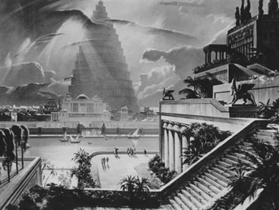 Hanging Gardens of Babylon Ancient Wonder (14)