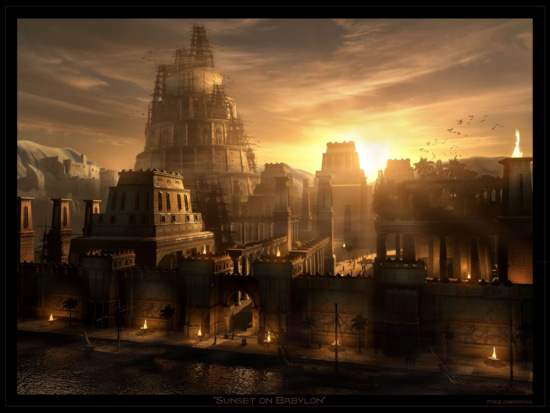 Hanging Gardens of Babylon Ancient Wonder (2)