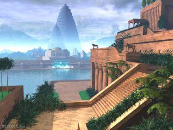 Hanging Gardens of Babylon Ancient Wonder (4)