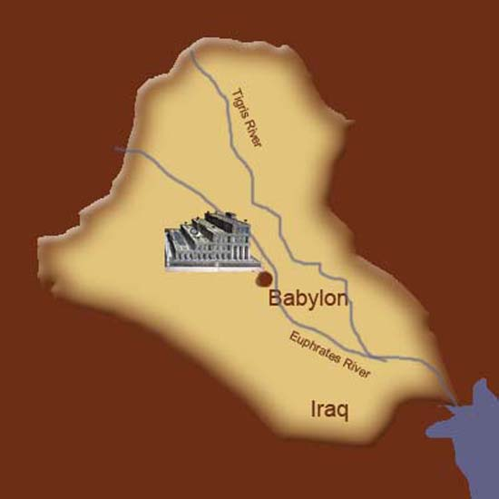 Hanging Gardens of Babylon Ancient Wonder (9)