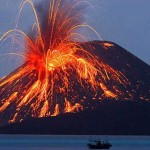 Traveling to Indonesia Krakatoa