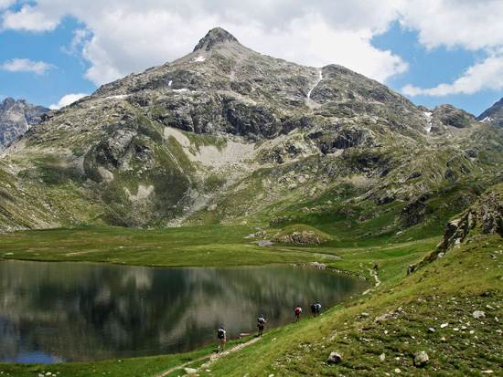 Traveling to Europe Pyrenees Mountain