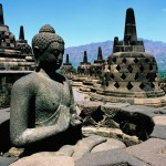 Traveling to Indonesia  Java  Borobudur Temple     Biggest Buddhist Temple