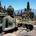 Traveling to Indonesia  Java  Borobudur Temple     Biggest Buddhist Temple