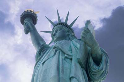 Traveling to USA  NY  The Statue of Liberty