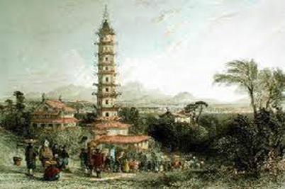 Traveling to China, Porcelain Tower, Nanjing