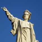 Christopher Columbus and  the Columbus  historical holiday