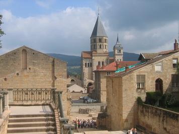 Cluny Abbey, France family holiday