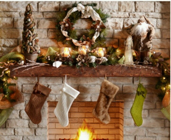 Cool Christmas Holiday Candles Decoration Ideas_01