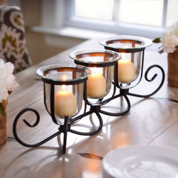 Cool Christmas Holiday Candles Decoration Ideas_03