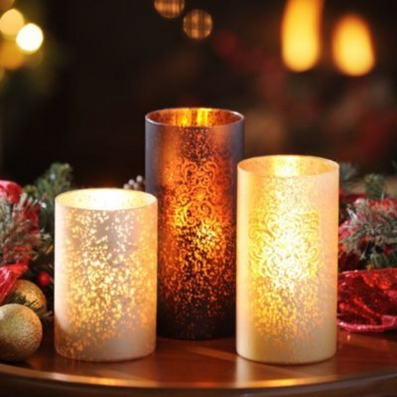 Cool Christmas Holiday Candles Decoration Ideas_05