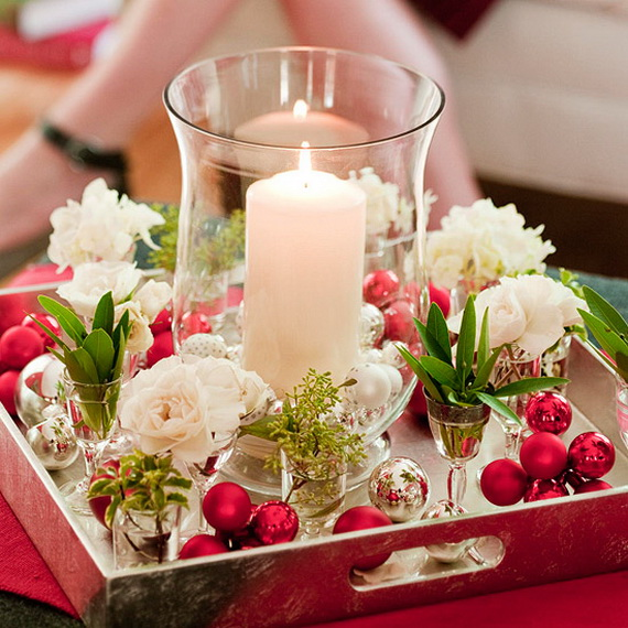 Cool Christmas Holiday Candles Decoration Ideas_12
