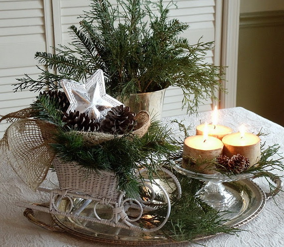 Cool Christmas Holiday Candles Decoration Ideas_14