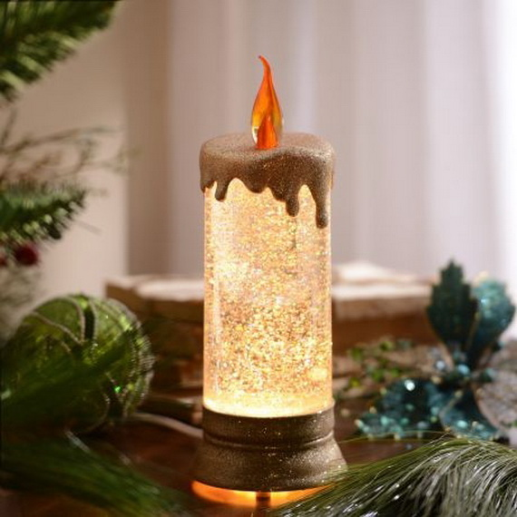 Cool Christmas Holiday Candles Decoration Ideas_16
