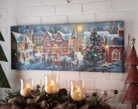 Cool Christmas Holiday Candles Decoration Ideas_25