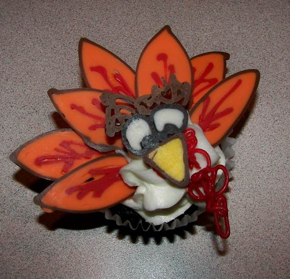 Easy Thanksgiving Cupcake Decorating Ideas (5)
