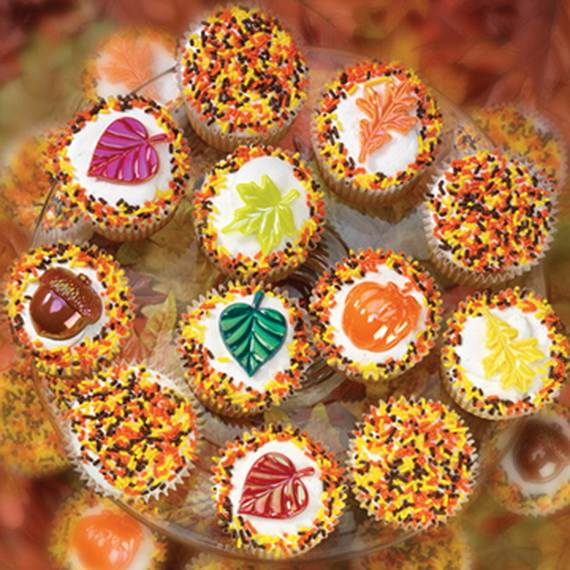 Easy Thanksgiving Cupcake Decorating Ideas (6)