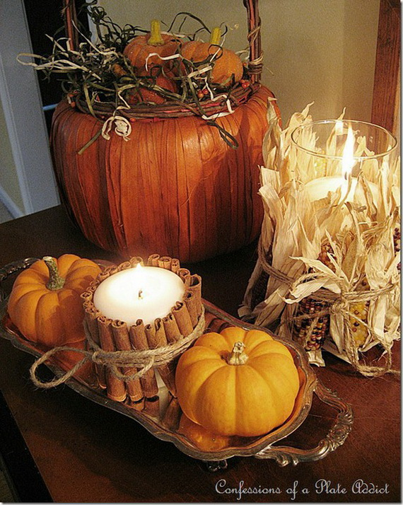 Easy and Elegant Thanksgiving Holiday Centerpieces_6