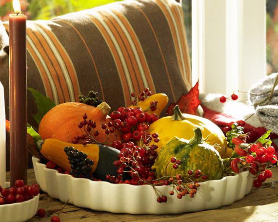 Easy and Elegant Thanksgiving Holiday Centerpieces_8