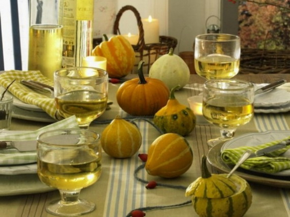 Elegant Table Decorations For Thanksgiving Holiday_01