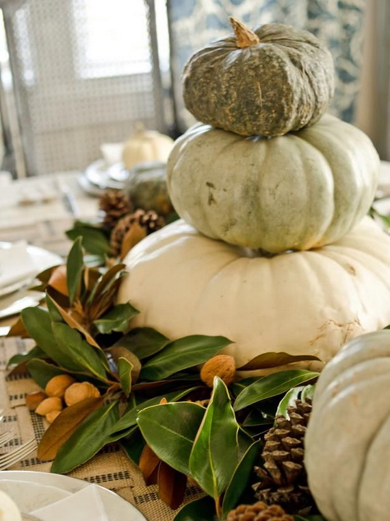 Elegant Table Decorations For Thanksgiving Holiday_02