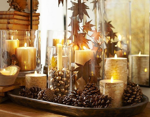 Elegant Table Decorations For Thanksgiving Holiday_06