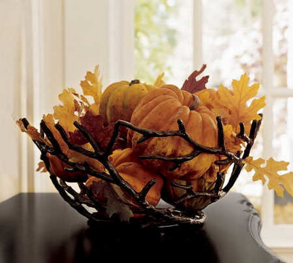 Elegant Table Decorations For Thanksgiving Holiday_07