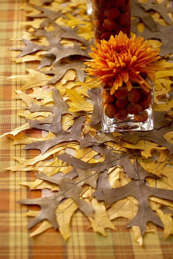 Elegant Table Decorations For Thanksgiving Holiday_09