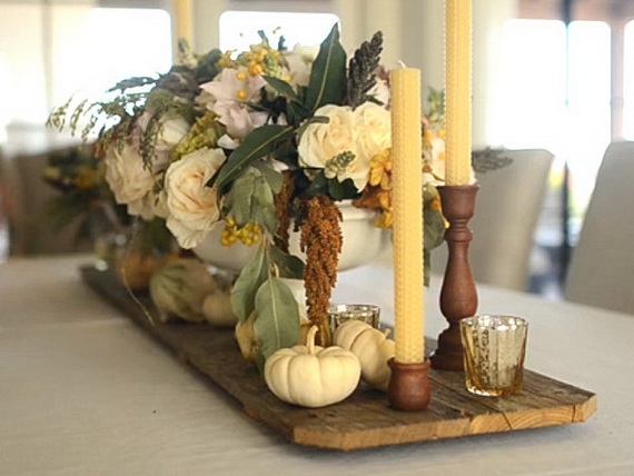 Elegant Table Decorations For Thanksgiving Holiday_13