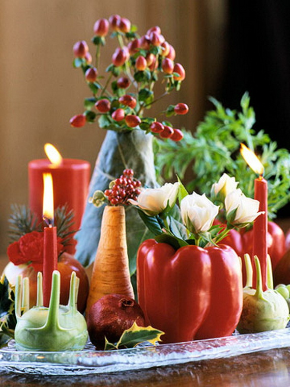 Elegant Table Decorations For Thanksgiving Holiday_18
