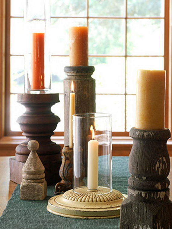 Exquisite  Candles  for Elegant Thanksgiving   Holiday_03